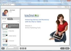 Online Publishing module screenshot